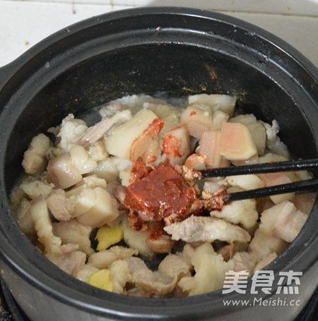 干豆角五花肉捞面怎么吃