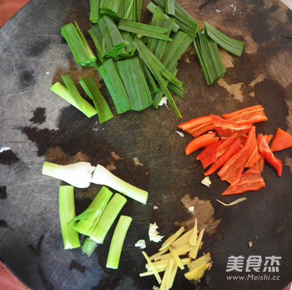 辣椒蒜苗炒猪腰怎么吃
