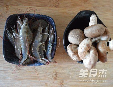 香菇鲜虾粥怎么炒