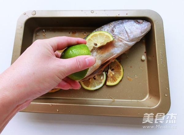 泰式香茅烤鱼的步骤