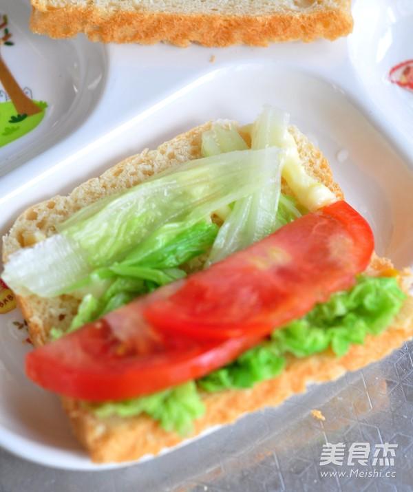 玉米蔬菜三明治怎样煸