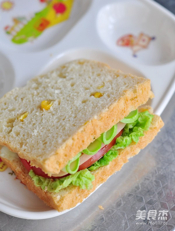 玉米蔬菜三明治怎样煮