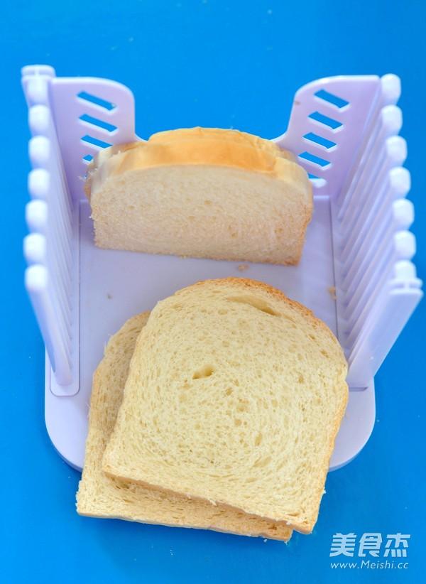 三文鱼罐头三明治的做法图解