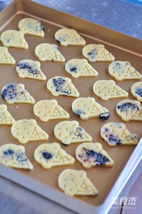 蓝莓饼干怎么炒
