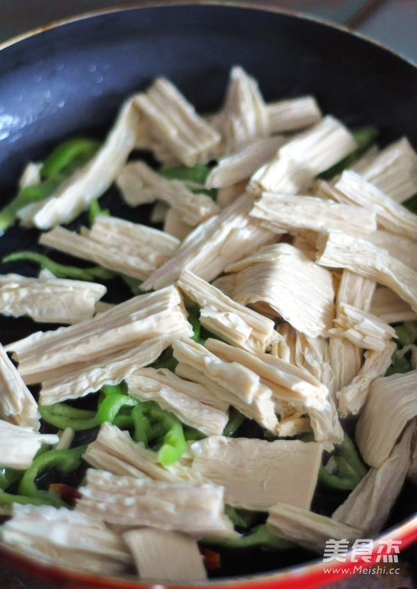 尖椒炒腐竹怎么吃