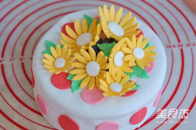 翻糖蛋糕的做法大全