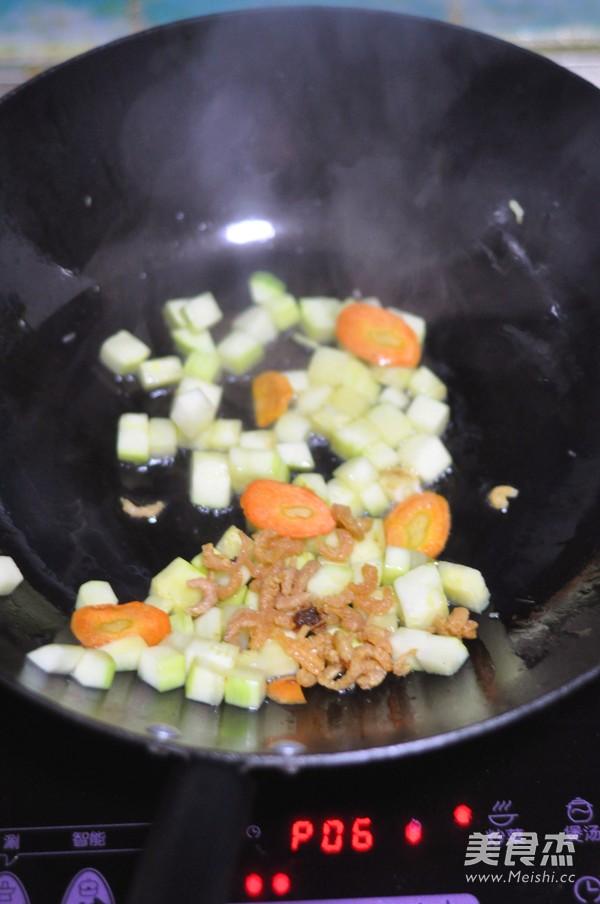 海米烧西葫芦的步骤