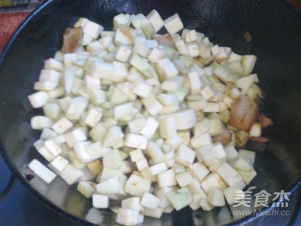猪肉茄子炖粉条怎么吃