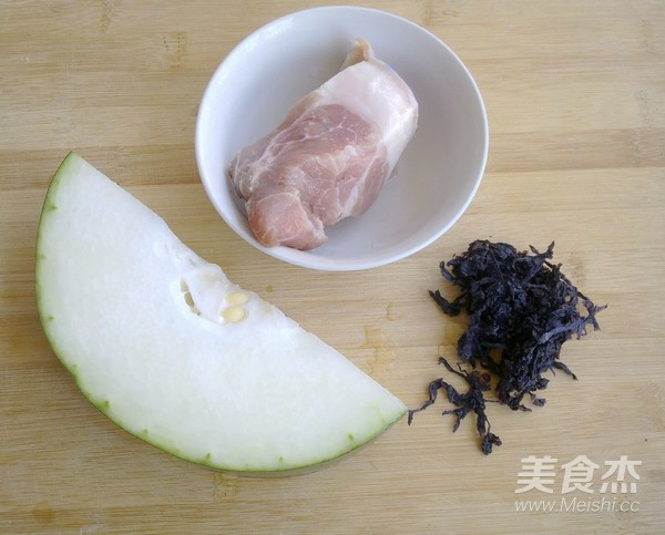紫菜冬瓜肉片汤的做法大全