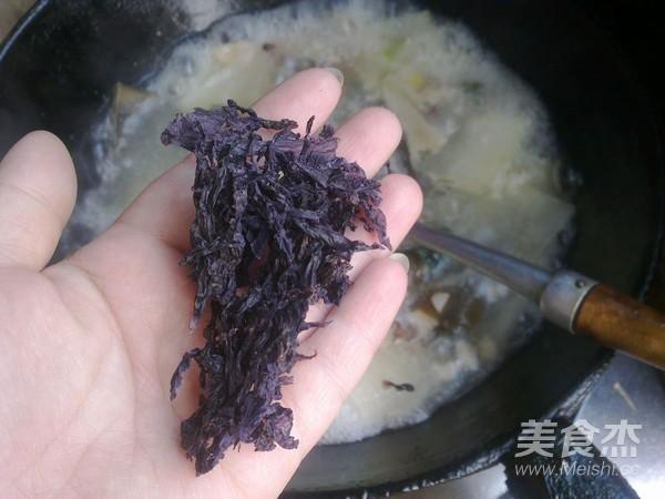 紫菜冬瓜肉片汤怎么煮