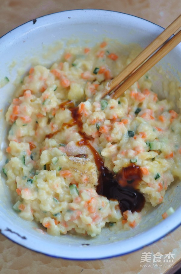 香麻土豆饼怎么做