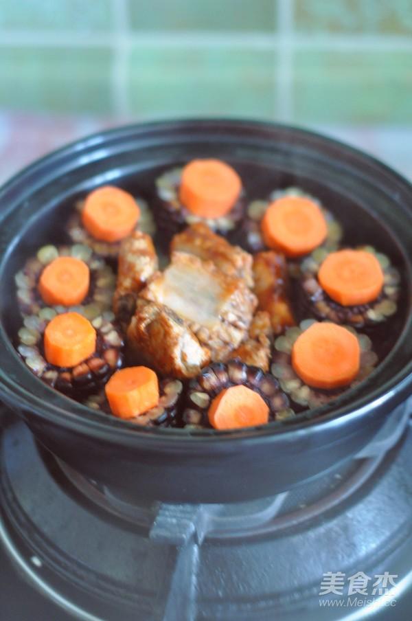 黑玉米排骨锅怎么煮