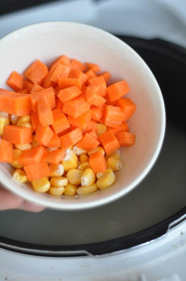 羊排胡萝卜粥怎么吃