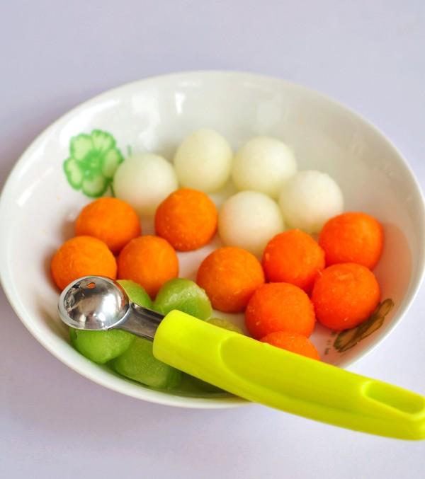 彩蔬丸子的做法大全