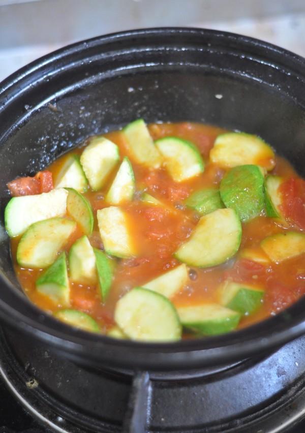 番茄豆腐锅的步骤