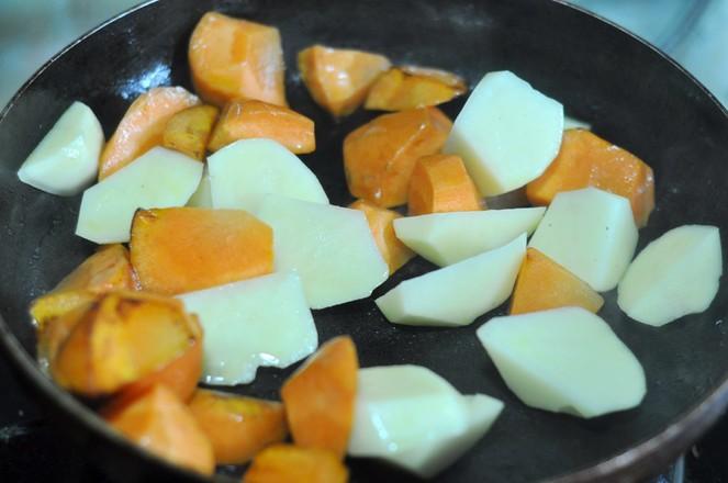 土豆烧牛肉的简单做法