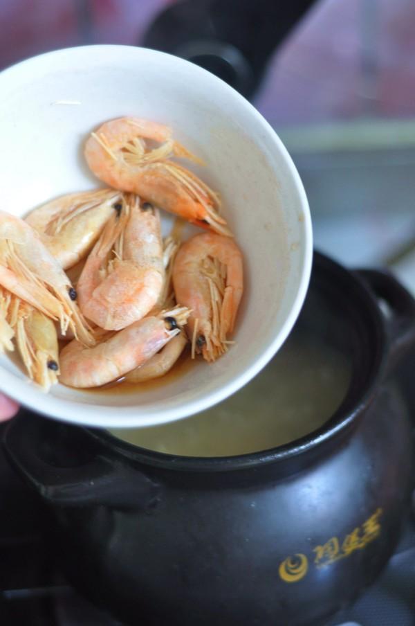 北极虾砂锅粥怎么吃