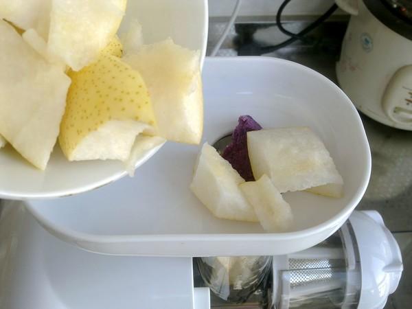 紫薯汁怎么炒