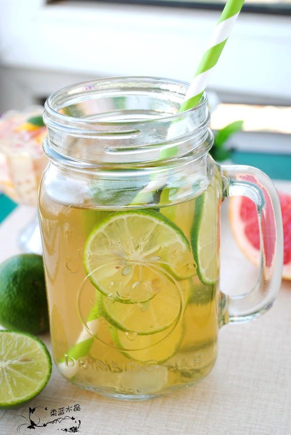 青柠檬茶成品图