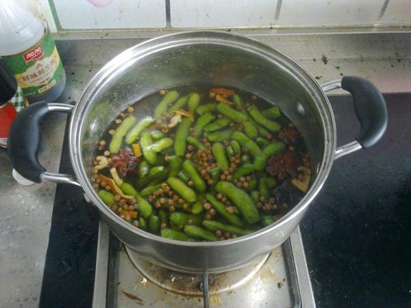 陈皮毛豆怎么吃