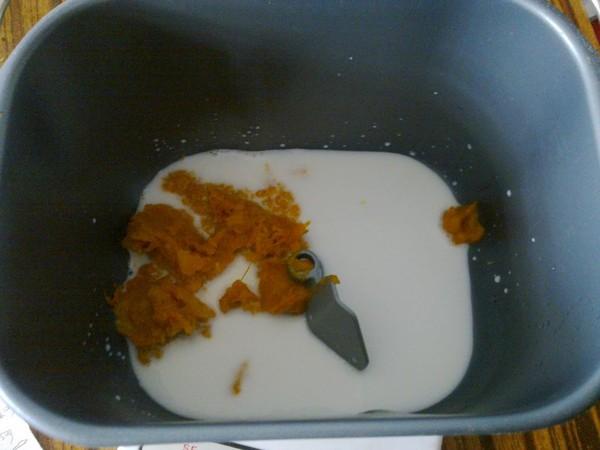 南瓜辫子面包的做法图解