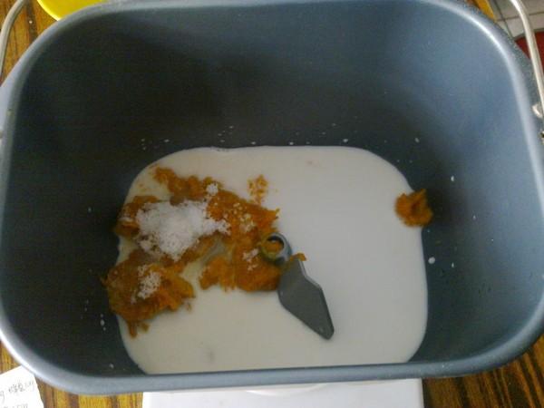 南瓜辫子面包的简单做法