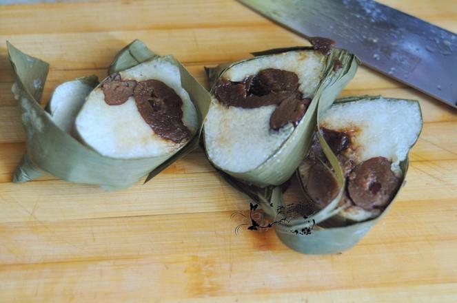 粽子蜜豆三明夹的做法大全
