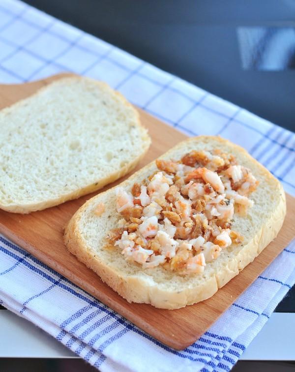 虾仁鳗鱼三明治的简单做法