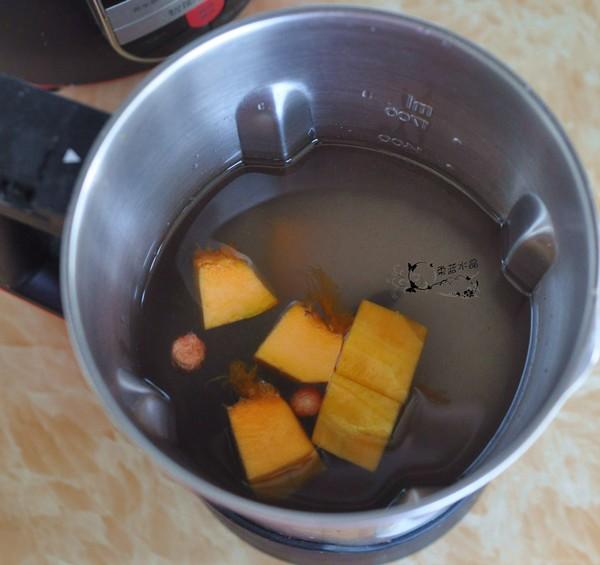 大米南瓜花生仁汁的简单做法