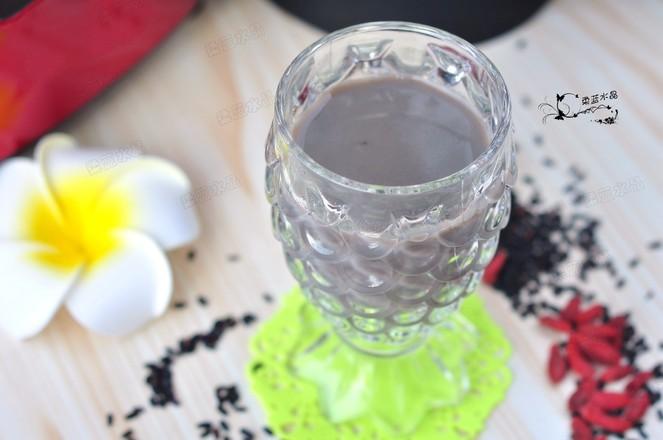 黑米枸杞豆浆怎么吃