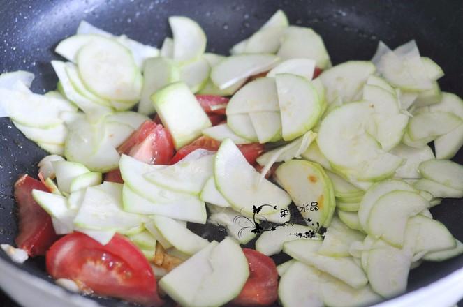 西葫芦过油肉的简单做法
