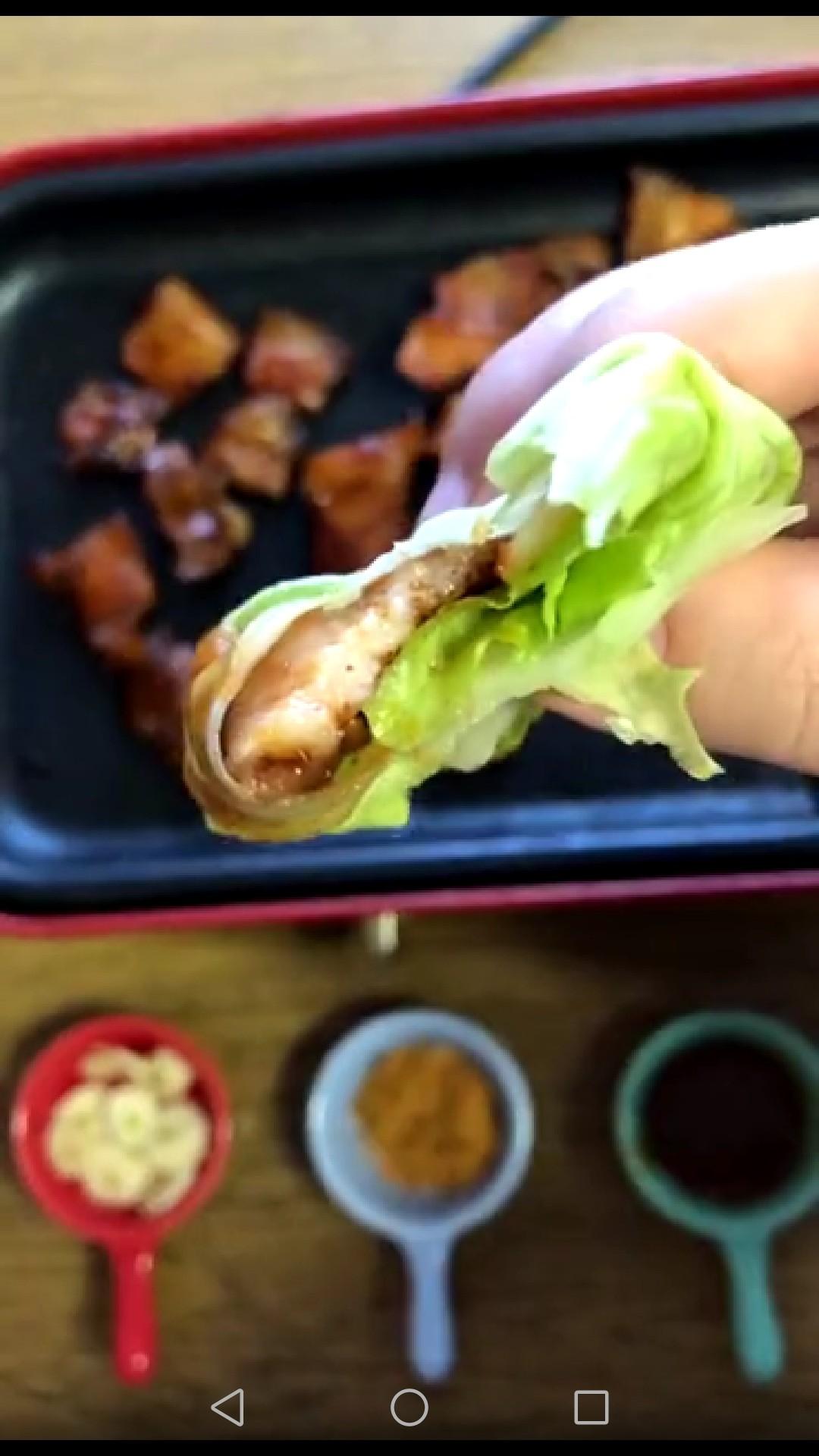 生菜包五花肉怎么做