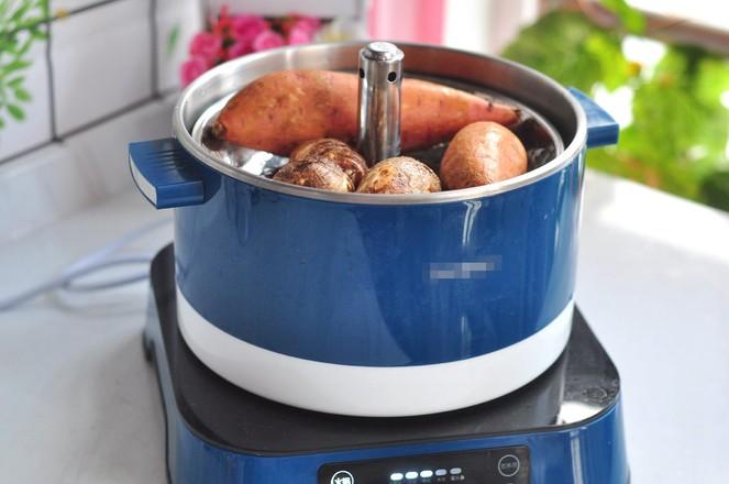 蒸红薯的做法大全