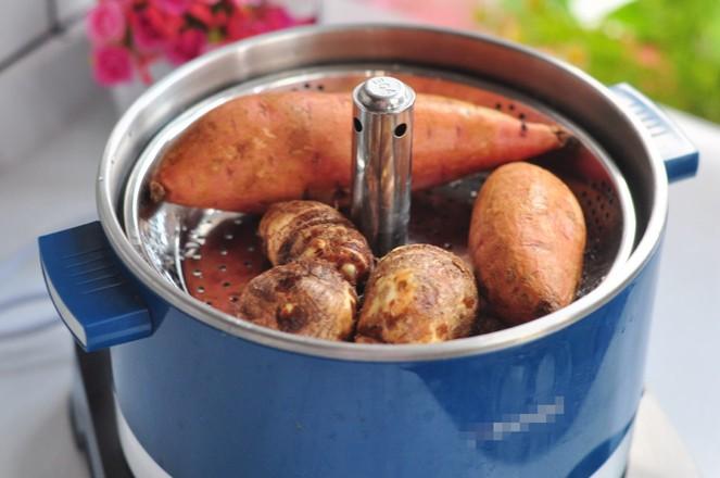 蒸红薯的做法图解