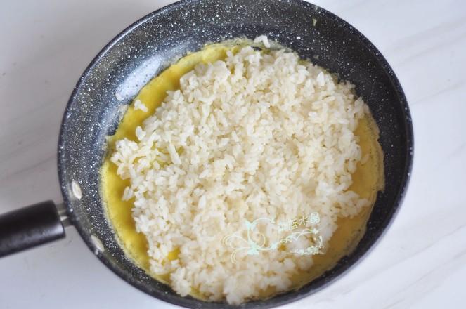 米饭鸡蛋卷的简单做法