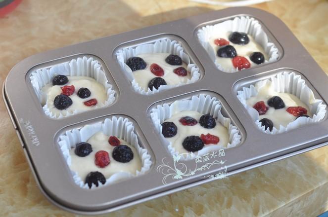 蓝莓酸奶无油马芬怎么煮
