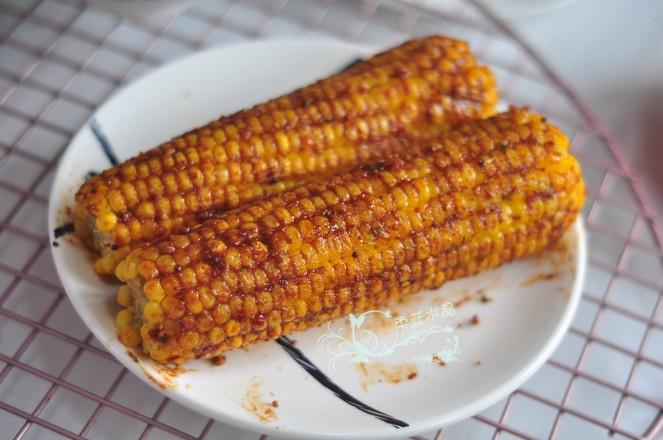 香辣烤玉米怎么做