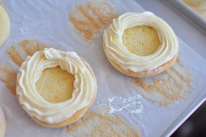 珍珠奶油蛋糕圈怎么煮