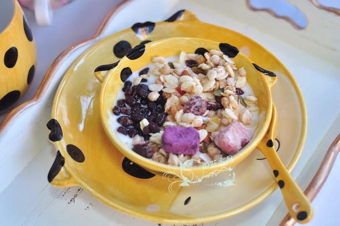 酸奶麦片冰粉冻怎么煮