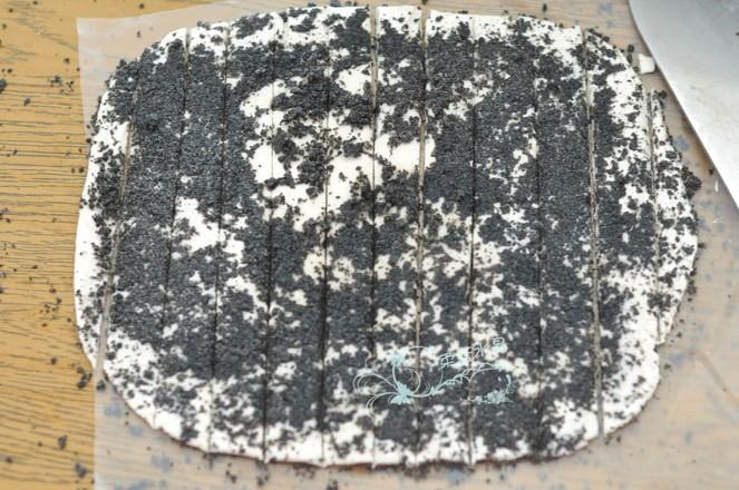 黑芝麻酥条的家常做法