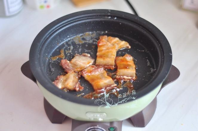#冬至大如年#五花肉茄汁乌冬面的做法图解