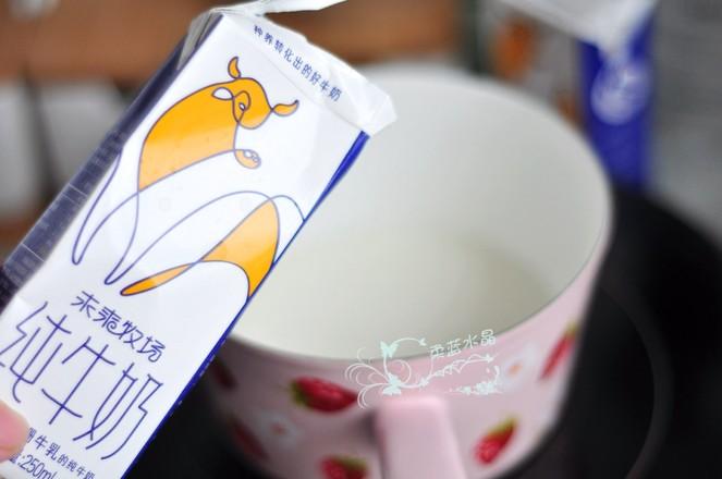 奥利奥牛奶冻的步骤