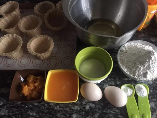 橘子麦芬蛋糕的简单做法