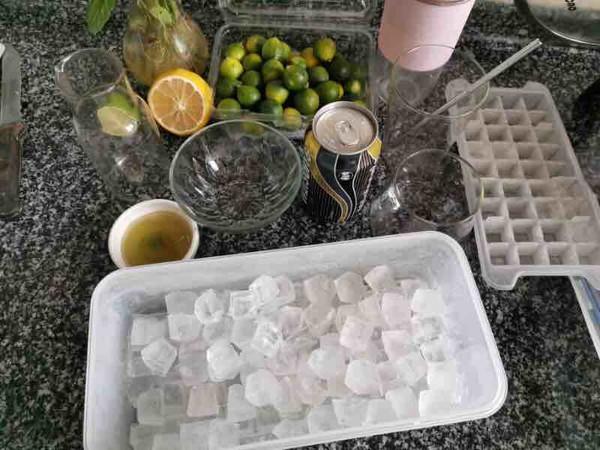 柠檬蜂蜜气泡水的做法大全