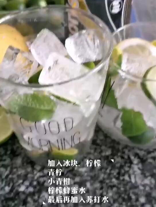 柠檬蜂蜜气泡水怎么炒