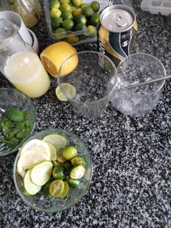 柠檬蜂蜜气泡水怎么做