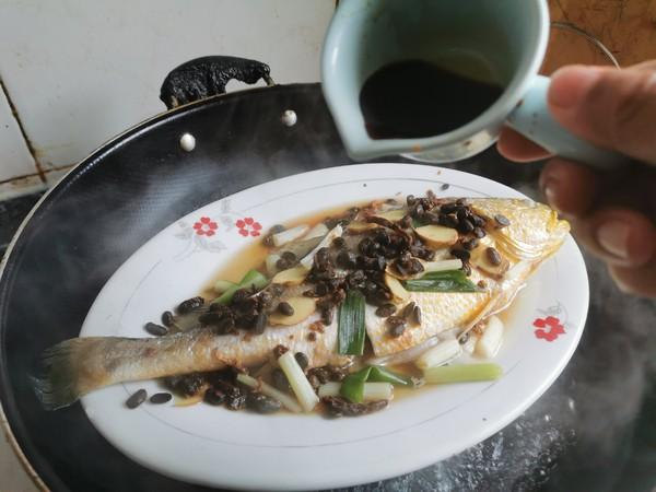 豆豉蒸黄花鱼怎么炒