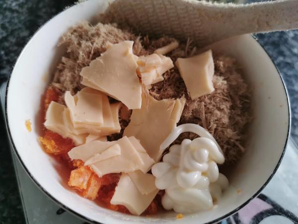 熟谷米芝士饭团的简单做法