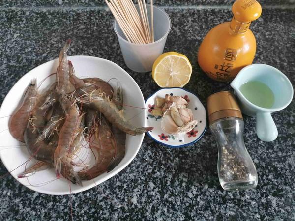 黑椒蒜蓉烤虾的做法大全