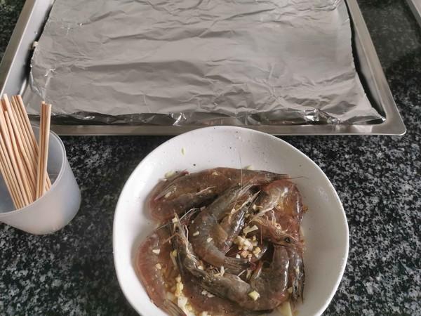 黑椒蒜蓉烤虾怎么炖